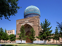 Bibi-Chanum Moschee, Samarkand, Usbekistan, Asien, UNESCO Weltkulturerbe<br /> Bibi Chanum Mosque, Samarkand, Uzbekistan, Asia, UNESCO Heritage Site