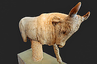 Statue of a bull (2nd cent. A.D.) in Olympia museum, Greece