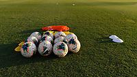 Miami, FL - Tuesday, October 15, 2019:  Nike soccer balls during a friendly match between the USMNT U-23 and El Salvador at FIU Soccer Stadium.