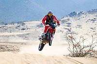31st December 2020, Jeddah, Saudi Arabian. The vehicle and river shakedown for the 2021 Dakar Rally in Jeddah; 88 Barreda Bort Joan esp, Honda, Monster Energy Honda Team