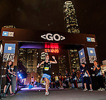 Athletes in action during the Bloomberg Square Mile Relay Hong Kong 2014 on November 06, 2014 at Central in Hong Kong, China. Photo by Xaume Olleros / Power Sport Images