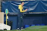 Villarreal CF's coach Unai Emery during La Liga match. November 2, 2020. (ALTERPHOTOS/Acero)