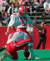 Mark McLoughlin Calgary Stampeders kicker 1989. Photo Scott Grant