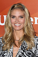 PASADENA, CA, USA - APRIL 08: Model Heidi Klum arrives at the NBCUniversal Summer Press Day 2014 held at The Langham Huntington Hotel and Spa on April 8, 2014 in Pasadena, California, United States. (Photo by Xavier Collin/Celebrity Monitor)