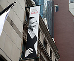 "Theatre Marquee for the Neil Simon Play ""Plaza Suite"" starring Matthew Broderick and Sarah Jessica Parker on March 4, 2020 at the Hudson Theatre in New York City."