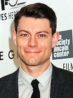NEW YORK CITY, NY, USA - SEPTEMBER 26: Patrick Fugit arrives at the 52nd New York Film Festival Opening Night Gala Presentation and World Premiere Of 'Gone Girl' held at Alice Tully Hall on September 26, 2014 in New York City, New York, United States. (Photo by Celebrity Monitor)