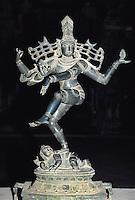 Statue von Shiva im Sri Meenakshi Tempelmuseum, Madurai,Tamil Nadu, Indien