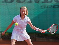 August 24, 2014, Netherlands, Amstelveen, De Kegel, National Veterans Championships, Nora Blom (NED)<br /> Photo: Tennisimages/Henk Koster