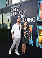 """NEW YORK CITY - AUG 24: Mandy Ansari attends the screening of Hulu's """"Only Murders in the Building"""" at The Greens at Pier 17 on August 24, 2021 in New York City. (Photo by Frank Micelotta/Hulu/PictureGroup)"""