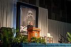 January 22, 2018; Notre Dame president Rev. John I. Jenkins, C.S.C. speaks at the 2018 MLK Luncheon (Photo by Matt Cashore/University of Notre Dame)