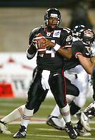 Romaro Miller Ottawa Renegades quarterback. Copyright photograph Scott Grant