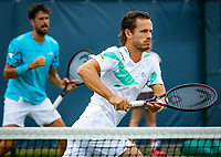 Den Bosch, Netherlands, 12 June, 2018, Tennis, Libema Open, Men's doubles : Robin Haase (NED) and Wesley Koolhof (NED) (R)<br /> Photo: Henk Koster/tennisimages.com