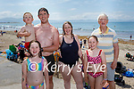 The Kerins family from Ballyheigue enjoying Ballyheigue beach on Sunday, l to r: Milly, Cathal, Peter, Mary, Isabell and Noel Kerins.