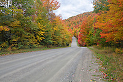 Northeast Kingdom  - Granby Road in Granby, Vermont during the autumn months.