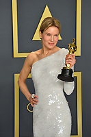 LOS ANGELES, USA. February 09, 2020: Renee Zellweger at the 92nd Academy Awards at the Dolby Theatre.<br /> Picture: Paul Smith/Featureflash