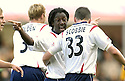22/09/2007       Copyright Pic: James Stewart.File Name : sct_jspa05_falkirk_v_motherwell.RUSSELL LATAPY CELEBRATES SCORING FALKIRK'S GOAL....James Stewart Photo Agency 19 Carronlea Drive, Falkirk. FK2 8DN      Vat Reg No. 607 6932 25.Office     : +44 (0)1324 570906     .Mobile   : +44 (0)7721 416997.Fax         : +44 (0)1324 570906.E-mail  :  jim@jspa.co.uk.If you require further information then contact Jim Stewart on any of the numbers above........