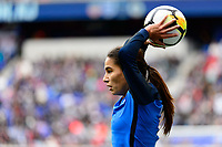 Harrison, NJ - Sunday March 04, 2018: Amel Majri during a 2018 SheBelieves Cup match match between the women's national teams of the United States (USA) and France (FRA) at Red Bull Arena.