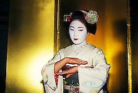 Geisha Girl in Kyoto, Japan
