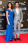 Melina Matthews and Raul Arevalo during the red carpet of the opening ceremony of the Festival de Cine Fantastico de Sitges in Barcelona. October 07, Spain. 2016. (ALTERPHOTOS/BorjaB.Hojas)