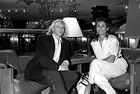 FILE PHOTO -  <br /> Patrick Dumont au<br /> party de cloture du Festival des Films du Monde, le 1er septembre 1986.<br /> <br /> PHOTO : Pierre Roussel<br />  - Agence Quebec Presse