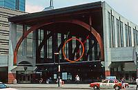 Boston:  Back Bay Station South End.  Photo '91.
