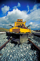 Removal equipment on train tracks