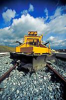Removal equipment on train tracks