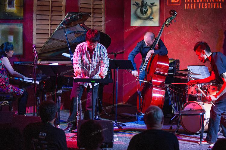 Sakoto Fujii New Trio + One at IronWorks, June 23, TD Vancouver International Jazz Festival