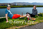 Enjoying a picnic in Blennerville on Sunday, l to r: Dan Casey and Rachel O'Shea.