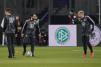 Amin Younes (Deutschland Germany), Philipp Max (Deutschland Germany) - 25.03.2021: WM-Qualifikationsspiel Deutschland gegen Island, Schauinsland Arena Duisburg