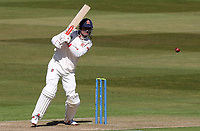 Sir Alastair Cook of Essex in batting action during Warwickshire CCC vs Essex CCC, LV Insurance County Championship Group 1 Cricket at Edgbaston Stadium on 22nd April 2021