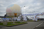 The Hague, Netherlands, June 14: View of the entrance area of the Kyocera Stadium on June 14, 2014 during the World Cup 2014 at Kyocera Stadium in The Hague, Netherlands. (Photo by Dirk Markgraf / www.265-images.com) *** Local caption ***
