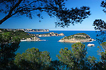 Spain, Costa Blanca, near Javea: Cap Negre with island of Portitxol | Spanien, Costa Blanca, bei Javea oder auf valencianisch Xàbia: Cap Negre mit der Insel Portitxol