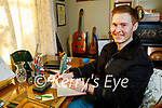 """Owen Rua at home in Tralee where he wrote his song """"Don't Rely on Anyone but Yourself"""" which was featured in an LGBT documentary """"Dragging up the Past""""."""