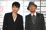 TOKYO - MAY 29: Chemistry band members Yoshikuni Dochin (L) and Kaname Kawabata arrive at the red carpet of the World Stage MTVJ 2010 show, May 29, 2010 at Yoyogi National Stadium in Tokyo, Japan.