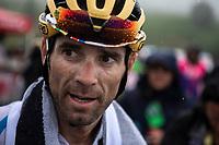 World Champion Alejandro Valverde (ESP/Movistar) after finishing on top of the Foix Prat d'Albis. <br /> <br /> Stage 15: Limoux to Foix Prat d'Albis (185km)<br /> 106th Tour de France 2019 (2.UWT)<br /> <br /> ©kramon