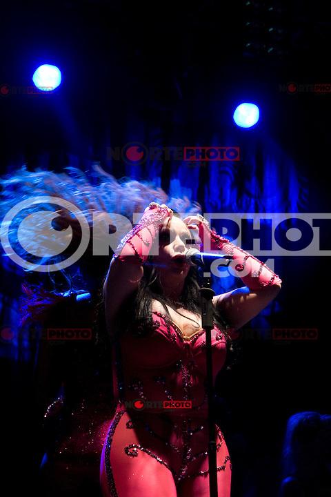 15.09.2012. Concert of ´Fangoria´ in Mostoles, Madrid. In the image Alaska  (Alterphotos/Marta Gonzalez) /NortePhoto<br /> <br /> <br />  **CREDITO*OBLIGATORIO** *No*Venta*A*Terceros*<br /> *No*Sale*So*third* ***No*Se*Permite*Hacer Archivo***No*Sale*So*third*
