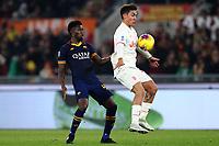 Amadou Diawara of AS Roma and Paulo Dybala of Juventus<br /> Roma 12-01-2020 Stadio Olimpico <br /> Football Serie A 2019/2020 AS Roma - Juventus FC<br /> Photo Cesare Purini / Insidefoto