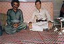 Iran 1982 .Right, Dr. Hadwin Shatavi, Kurdish surgeon, with the director of the hospital of Ghalve   .Iran 1982 .Dr. Hadwin Shatavi a l'hopital de Ghalve avec le directeur de l'hopital