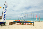 The beach of Club Med Turkoise on Grace Bay.