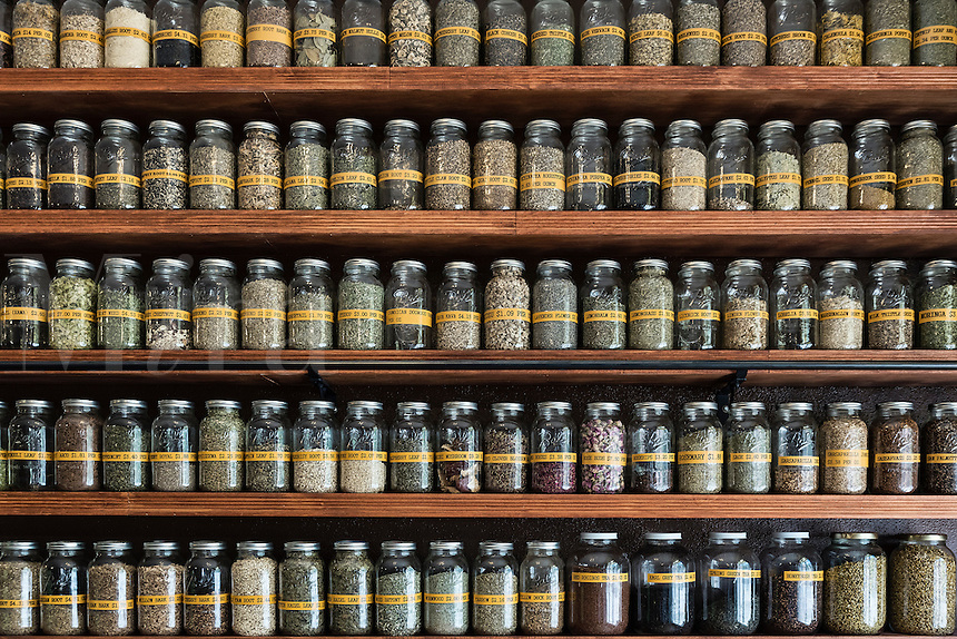 Herbal apothacary shop.