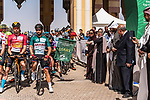Ready to start Stage 5 of the Saudi Tour 2020 running 144km from Princess Nourah University to Al Masmak, Saudi Arabia. 8th February 2020. <br /> Picture: ASO/Kåre Dehlie Thorstad | Cyclefile<br /> All photos usage must carry mandatory copyright credit (© Cyclefile | ASO/Kåre Dehlie Thorstad)