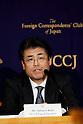 Tatsuya Kato speaks about South Korea Park's political crisis at FCCJ