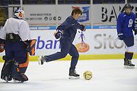 IJSHOCKEY: HEERENVEEN: 10-12-2019, IJsstadion Thialf, Nederlands dames IJshockey Team, training, ©foto Martin de Jong