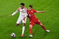 3rd January 2021, Allianz Arean, Munich Germany; Bundesliga Football, Bayern Munich versus FSV Mainz;  Joshua KIMMICH (Bayern) challenges <br />
