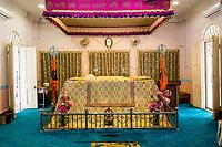 Gurdwara Sahib Police, a Sikh Temple, Kuala Lumpur, Malaysia.