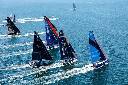 The Ocean Race Europe fleet departs Cascais for Alicante on Sunday 6 June