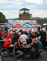8 October 2021; Supporters before the United Rugby Championship match between Ulster and Benetton at Kingspan Stadium in Belfast. Photo by Ramsey Cardy/Dicksondigital