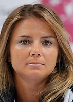 Tenis, Fed Cup 2011, play-off for group A.Slovakia Vs. Serbia, Official Draw.Daniela Hantuchova.Bratislava, 15.04.2011..foto: Srdjan Stevanovic/Starsportphoto ©
