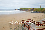 A very quiet beach in Ballybunion on Saturday